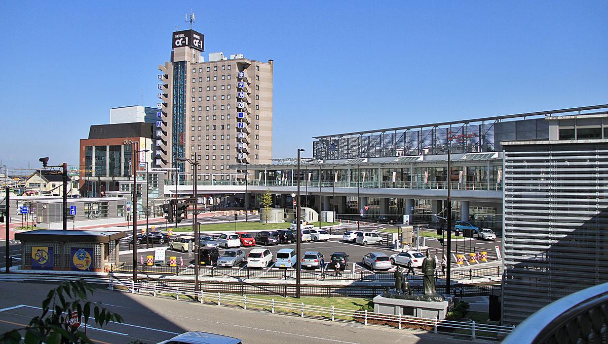 Takaoka_Station_Kojo-koen_guchi
