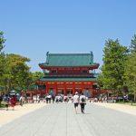 平安神宮・岡崎公園の駐車場で安い料金の周辺マップガイド&全リスト!