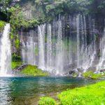 白糸の滝(富士宮)の駐車場で無料や安い料金のおすすめ地図&全リスト!
